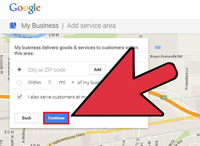 Add a Business to Google Maps- Step 2