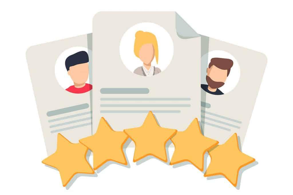 Testimonials on Google My Business