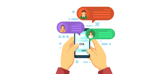 sms marketing CTA