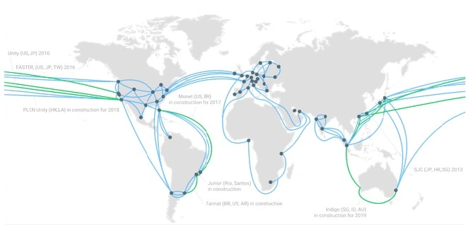 Check out all the Google data centers around the globe