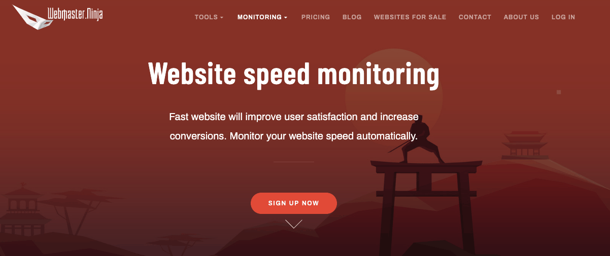 Website Speed Monitoring