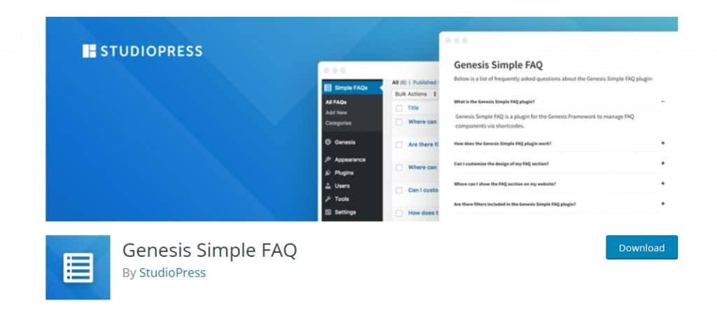 Genesis Simple FAQ
