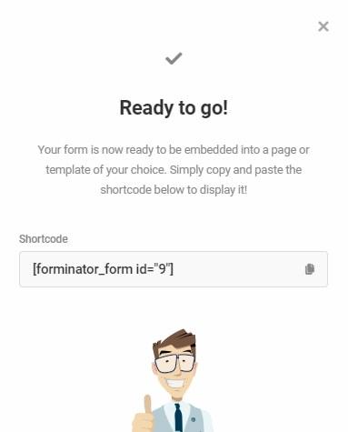 Forminator ready