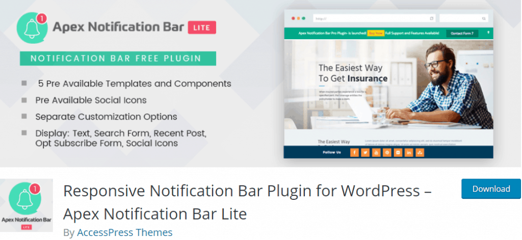 Apex Notification Bar Lite