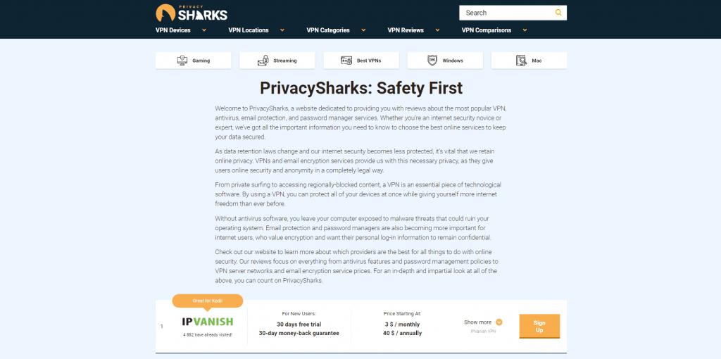 PrivacySharks