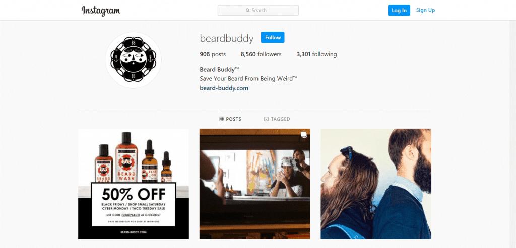 Beard Buddy Instagram
